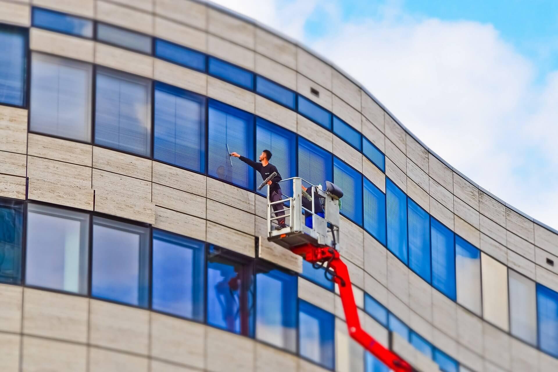 Fensterreinigung Gebäudereinigung Berlin Potsdam | GSD Dienstleistung